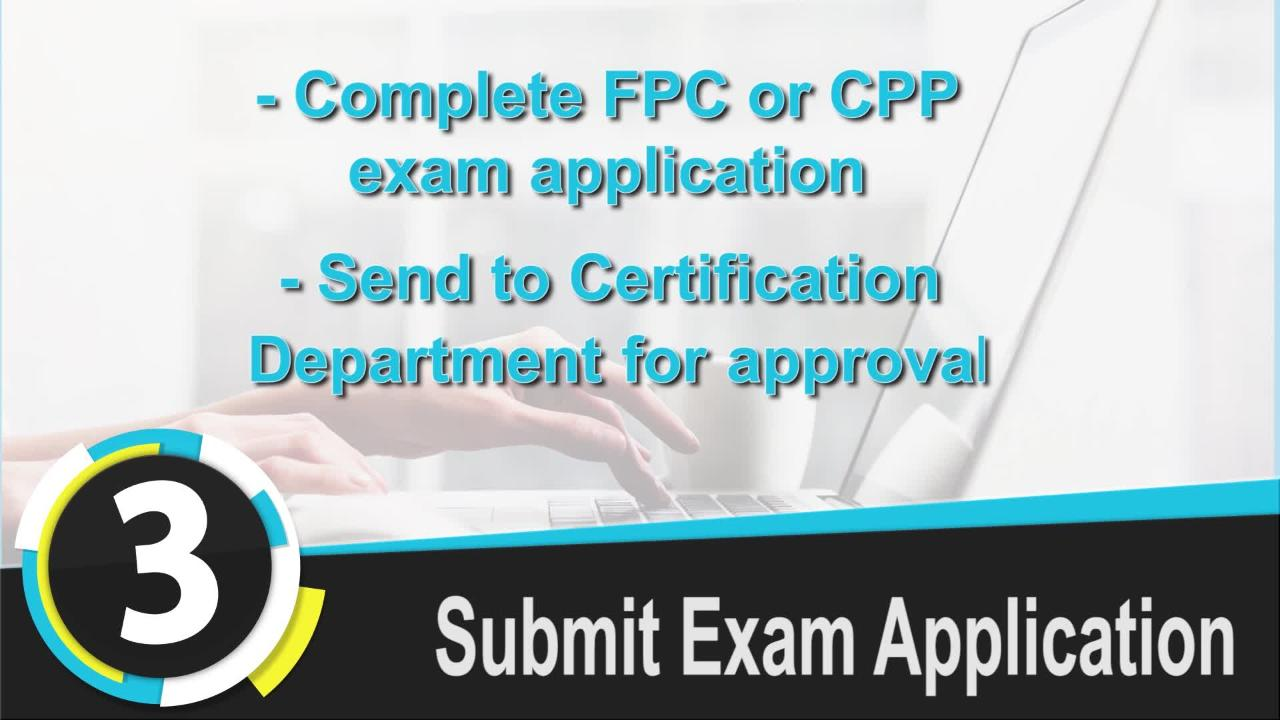 Five Steps To Certification
