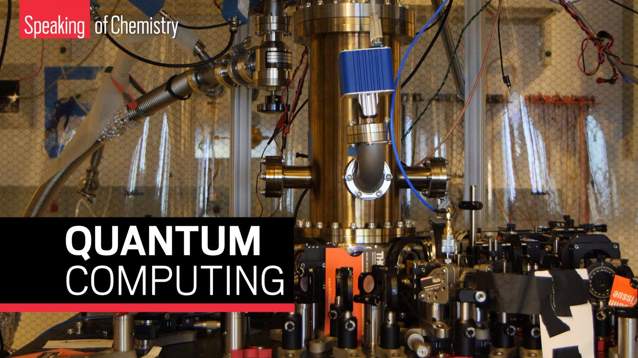 Quantum computing's first steps into chemistry