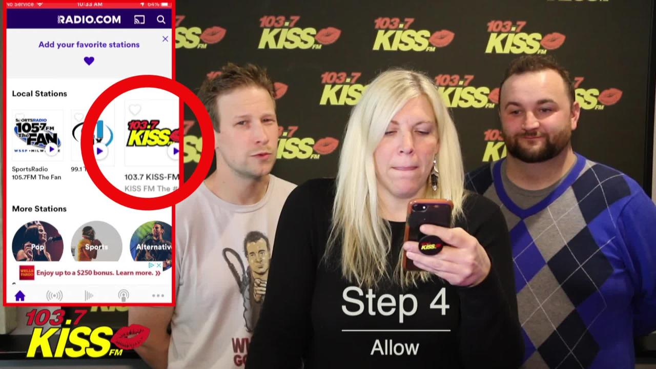 Listen To KISS On Your Phone
