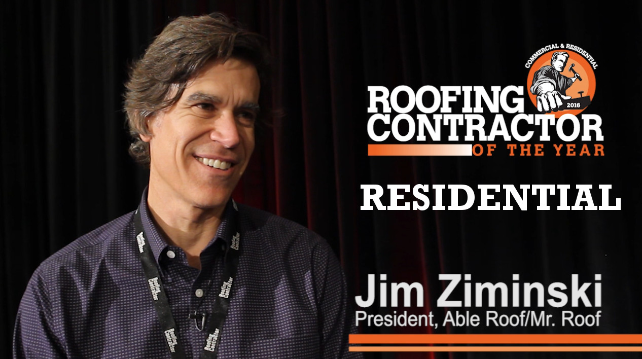 2016 Residential Roofing Contractor Of The Year: Able Roof, Mr. Roof |  2016 11 03 | Roofing Contractor