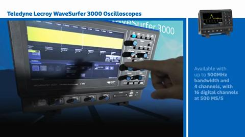 Driver for Teledyne LeCroy WaveSurfer 3000 Touch Oscilloscope