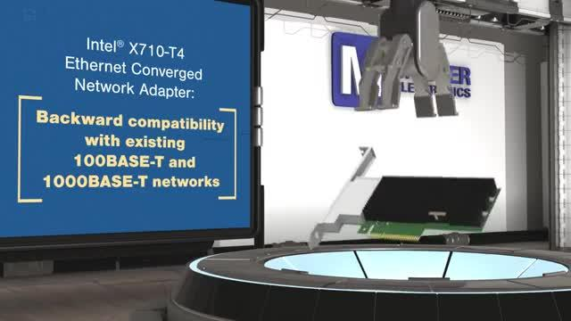 X710-T4 Ethernet Converged Network Adapter - Intel   Mouser