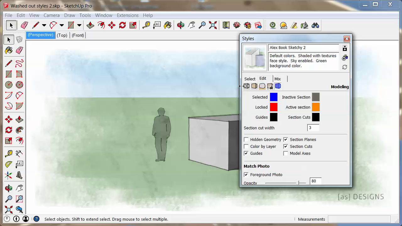4:37 Architectural Design With SketchUp 2nd Ed Video 0501