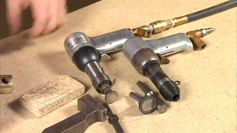 Flush Riveting with Hand Squeezer - Sheet Metal - EAA Video
