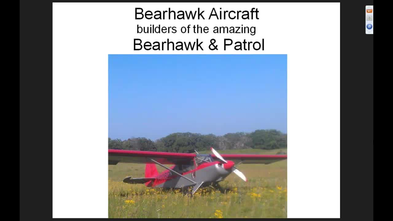 Webinar- The Barrow's Bearhawk