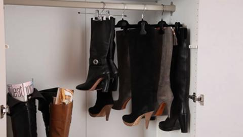 How to: Organize shoes and boots