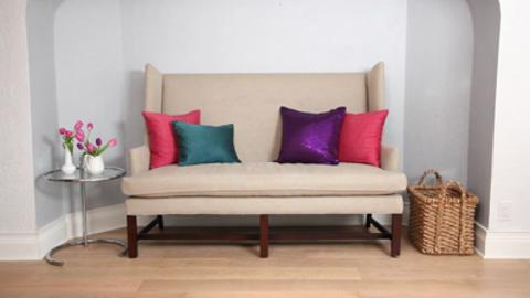 How to: Throw your throw pillows