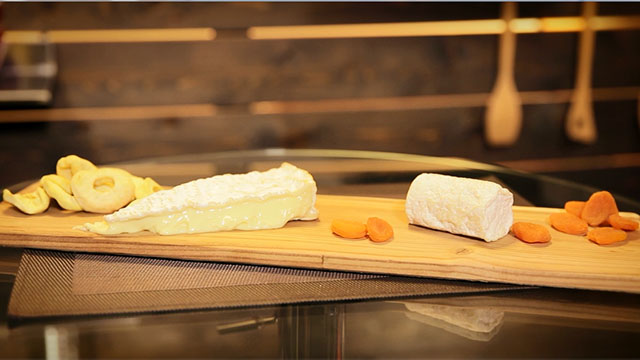 Accords vins et fromages : service 1