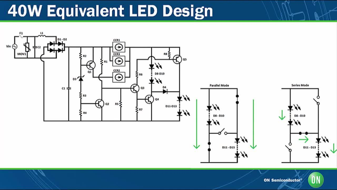 Evaluation Boards From On Semiconductor Linear Led Drivers Triac Construction And Operation