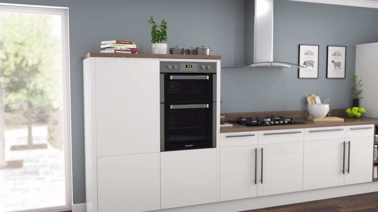HO9D337IN_SS | Hoover electric double oven | ao.com