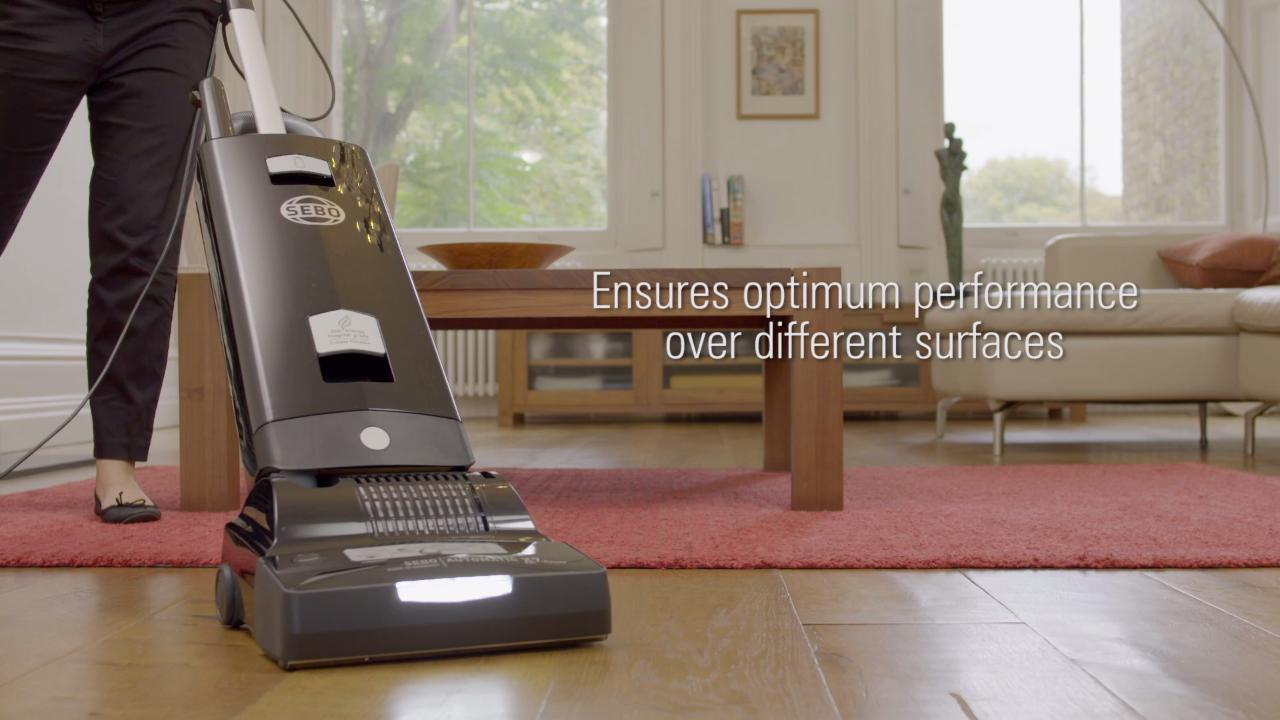 Sebo Automatic X7 Pet ePower 91540GB Upright Vacuum Cleaner
