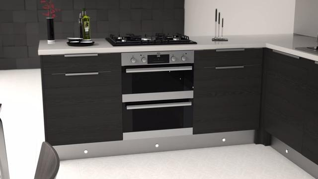 Aeg Dub331110m Built Under Double Oven Stainless Steel A A Rated