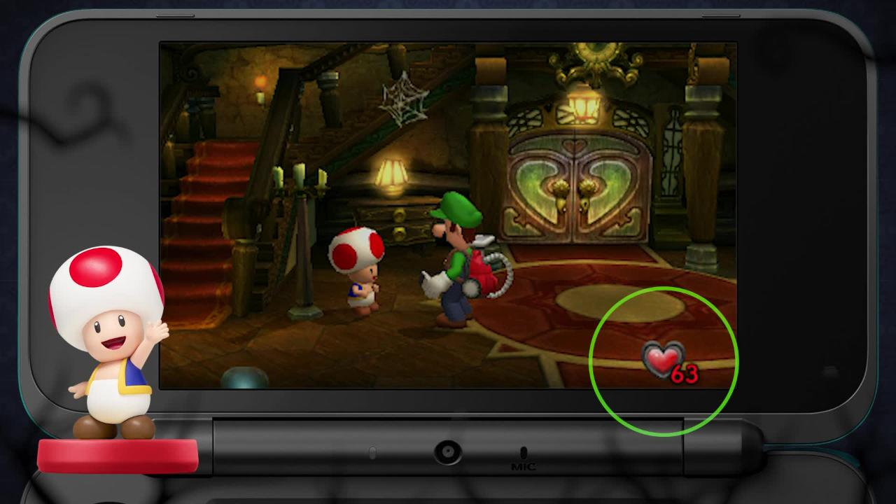 Luigi S Mansion For Nintendo 3ds