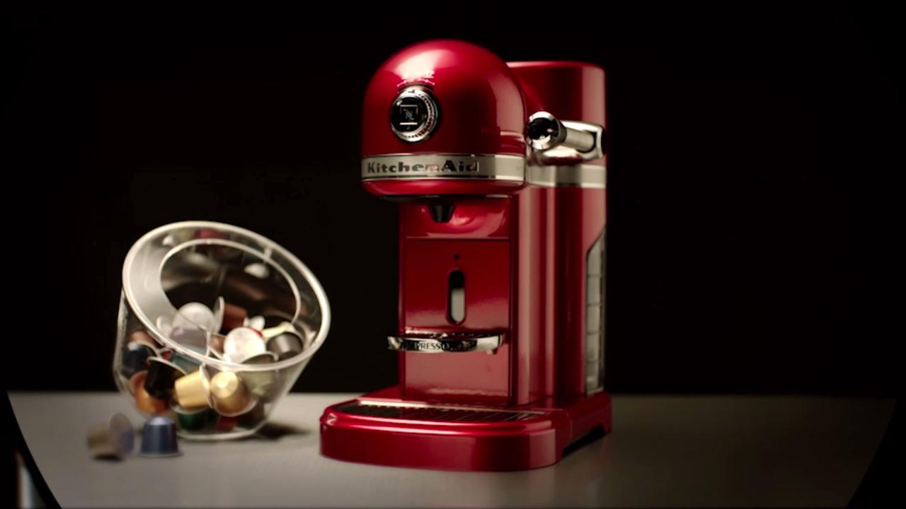 Nespresso By Kitchenaid Artisan 5kes0503ber Red