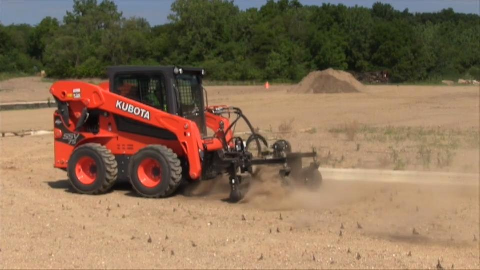Kubota SSV75 Skid Steer Field Test | Construction Equipment
