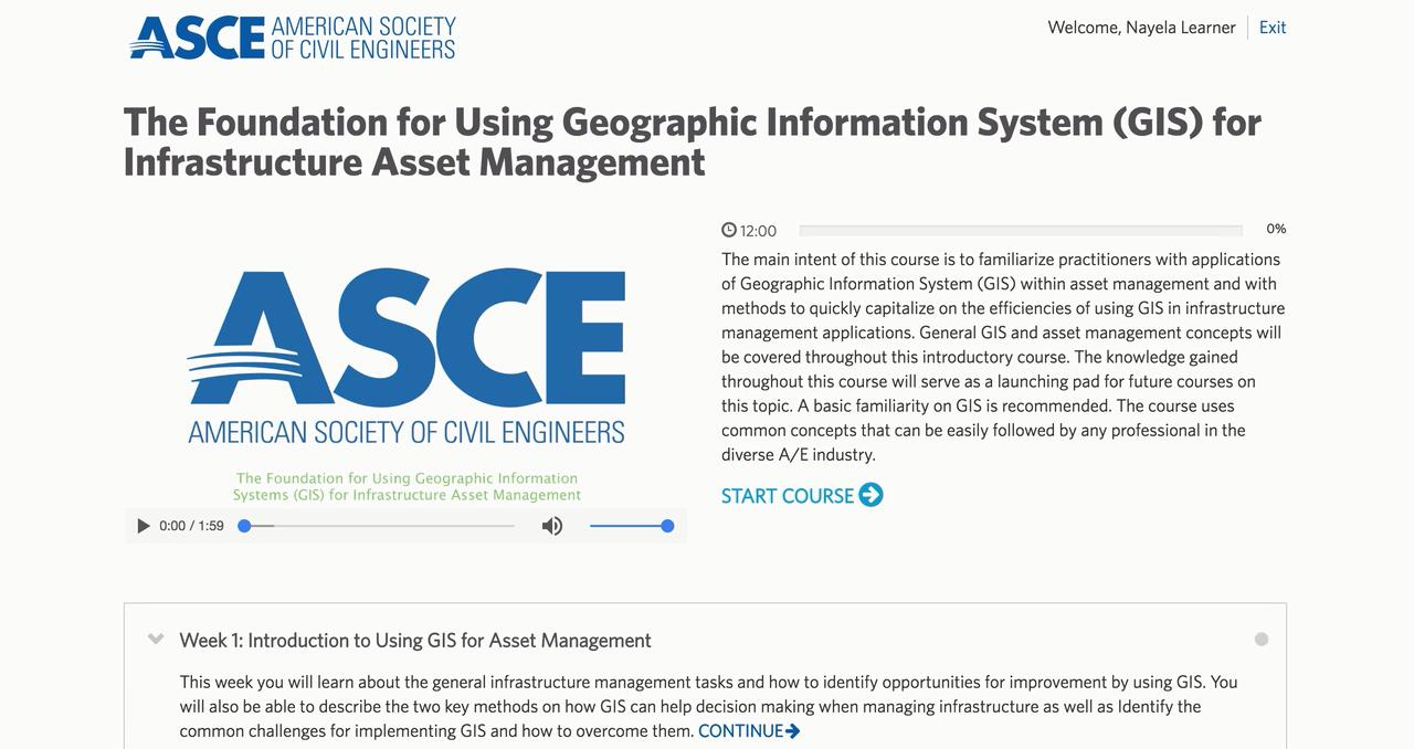The Foundation For Using Gis For Infrastructure Asset Management Asce