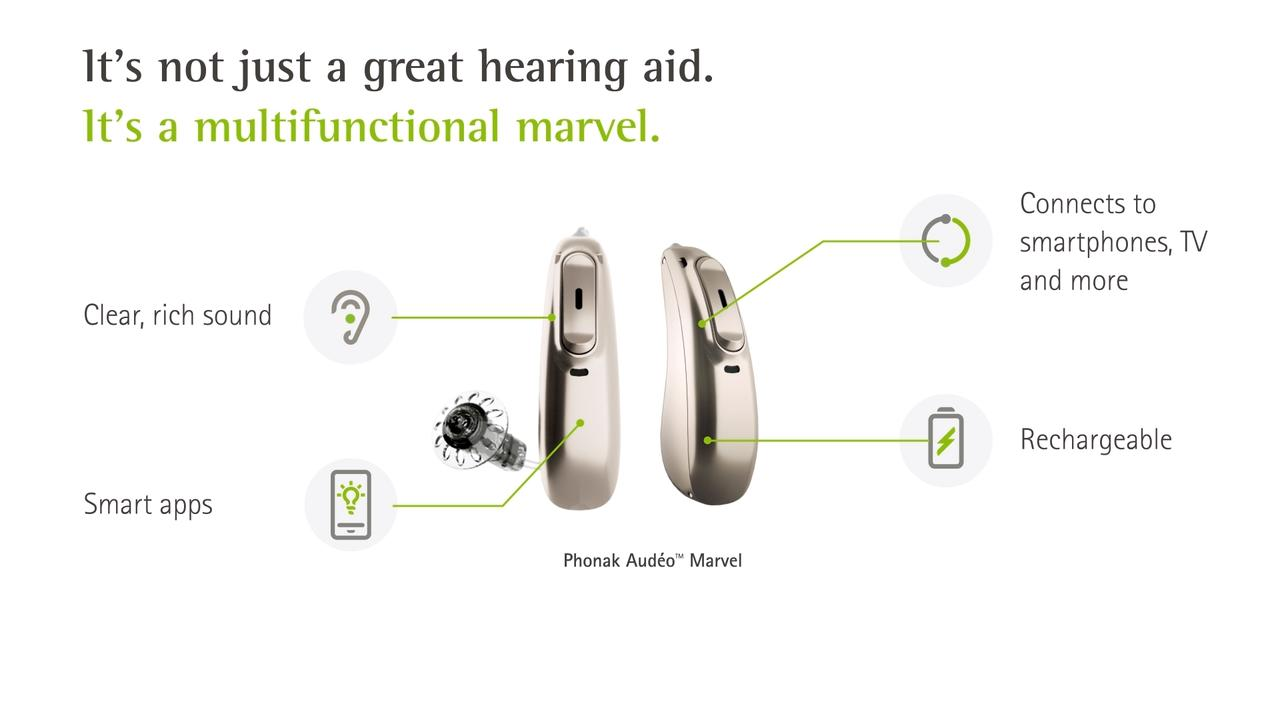 Phonak Audéo Marvel hearing aid | Phonak