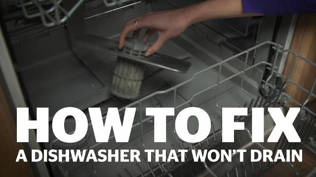 How to fix a dishwasher that's not draining - Which?