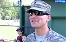 Soldier Dad Throws First Pitch
