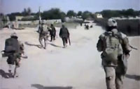 Soldiers Walk Into Taliban Ambush