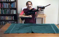 11yo Girl Sets AR Field Stripping Record