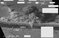 Huge A-10 Attacks Captured on FLIR
