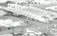 Iraqi Insurgents Engaged by Apache Gunship