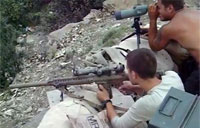M110 Sniper System in Afghanistan