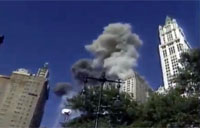 9-11 WTC Video of First Plane Attack