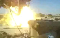 M1A1 Takes Out Sniper in Iraq