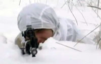 Russian Winter Sniper Training