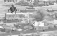 Apache Hits Snipers With 30mm