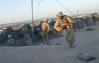 Heavy Firefight in Sangin, Afghanistan