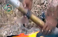 Iraqi Insurgent Rocket Fail
