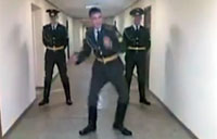 Russian Soldier's DWTS Audition Tape