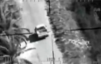 Cobra Engages Insurgents in Truck