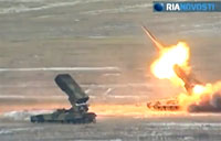 Russian TOS-1 Flamethrower System