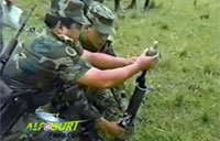 Colombian Army Mortar Fail!