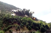 Close View of JDAM Dropped on Taliban
