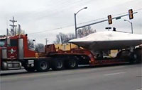 'UFO' on Truck Makes the News