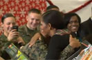 Marine Asks Michelle Obama to Ball