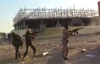 RPG Backblast Downs Libyan Rebel