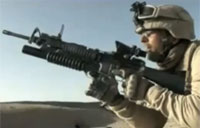 Marine Sniper Shoots Taliban with M110