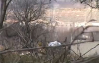 Syrian Army Tank Blown Up by IED