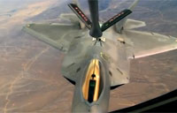 Awesome F-22 Raptor Aerial Refueling