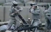 80mm Mortar Bipod Collapses, Do'h!