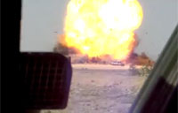 2 Vans + Detonation = Great Explosion