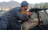 Afghan Parliament Rep Fights Taliban