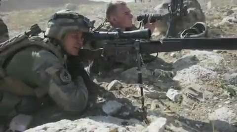 French Army Combat in Afghanistan