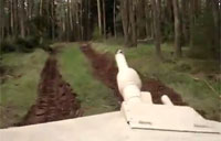 Tearing Through the Woods in M1A1